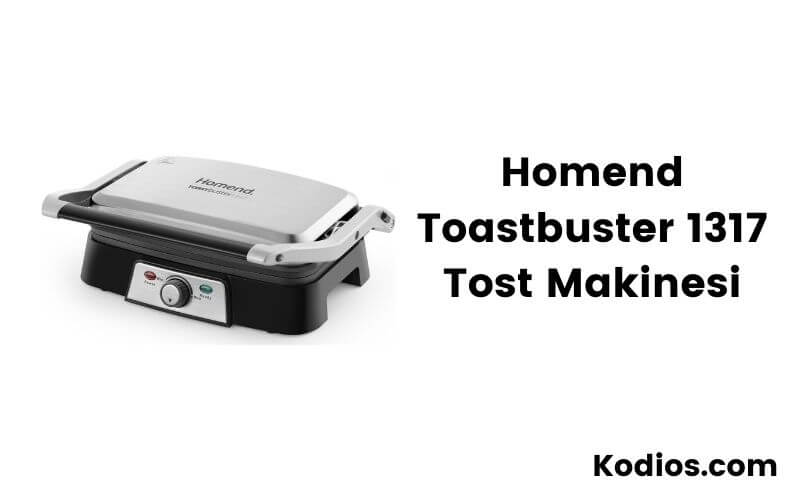 HOMEND Homent 1317 Toastbuster Granit Tost Makinesi
